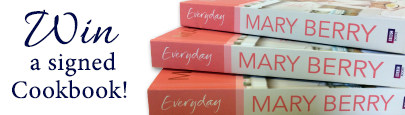 Mary Berry's Everyday Signed Cook Book Giveaway