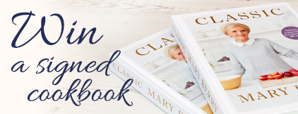 Mary Berry's Classic Signed Cook Book Giveaway